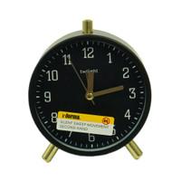 INFORMA - JAM MEJA - ALARM CLOCK MF-45D6 BLACK 11X13CM