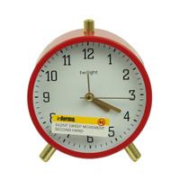 INFORMA - JAM MEJA - ALARM CLOCK MF-45D6 RED 11X13CM