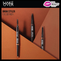 Baru Make Over Brow Styler Definer - MakeOver Eyebrow Pencil + Bru