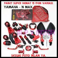 Paketan Jalu Knalpot AtasBawah Yamaha Nmax 15 Item Accesories Motor