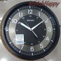 JM155 Jam Dinding SEIKO ORIGINAL QXA628K Quiet Sweep Glow In The Dark