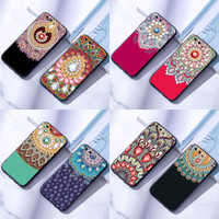 Casing Huawei P9 P10 Lite Plus Soft Case Cover Silicon Mandala 2