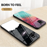 Casing Tempered Glass Samsung Galaxy A42 42 5g 2020 Shockproof Motif