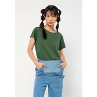 Colorbox Regular Loose T-Shirt I:Tskkey221A040 Green