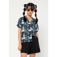 Colorbox Notch Collar Shirt I:Bswkey221A012 Off White