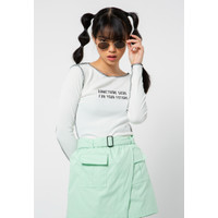 Colorbox Inside Out Blouse I-Tlkfct221A001 Off White