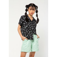 Colorbox Notch Collar Shirt I:Bswkey221A011 Black