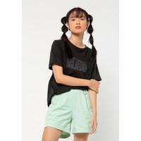 Colorbox Longline T-Shirt I:Tskkey221A008 Black