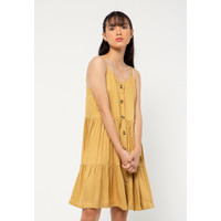 Colorbox Mini Dress I:Diwkey221A026 Camel