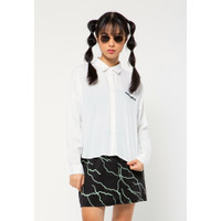 Colorbox Long Sleeves Shirt With Slit I:Blwkey221A013 Off White
