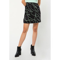 Colorbox Mini Skirt I-Sxwfct221A007 Black