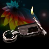 Mancis Korek Api minyak gantungan kunci Waterproof Lighter HY-650