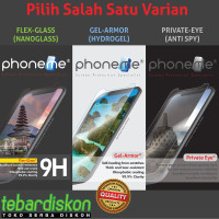 Sharp Aquos R SHV39 - PhoneMe Hydrogel Nano Tempered Glass Anti Spy - Hydrogel Isi 2, Clear