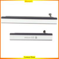 Micro SD & SIM Card USB Slot Port Cover Plug for Sony Z2 D6503 L50W