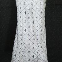 BP-105.27pth Rok Kebaya Modern Putih Variasi Payet Size XXL (Kode BP-105.27pth)