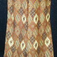 BP-105.31e.mr Rok kebaya modern emas jala merah variasi payet size XXL (Kode BP-105.31e.mr)