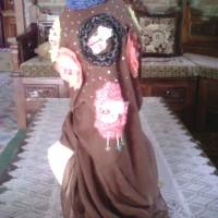 jilbab paris segiempat motif
