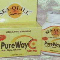 Sea quill Pure Way C 500mg With Beta Glucan