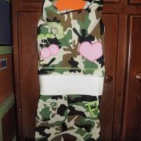 Baju Anjing Kucing Army Guys