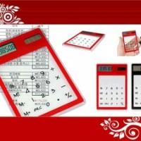 Calculator Transparant - Barang unik - stasionary