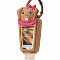 pocketbac holder light brown dog