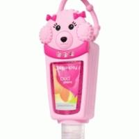 pocketbac holder pink poodle