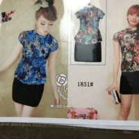 C12004 - Beauty flower dress (Blue)