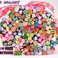 Fimo Nail Art Mix Design
