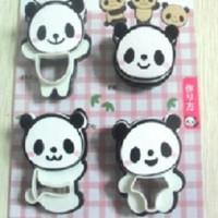 Set Cetakan Cookies Berbentuk Panda (1 Set Isi 4)