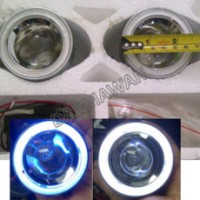 Foglamp Projector Angel Eyes Powerlight diameter 7cm