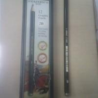 pencil / pensil 2B Faber Castle