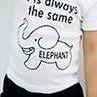 Elephant Set White sz 120