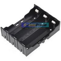 Paralel 3x 18650 Battery Holder Plat Lempengan Kotak Baterai Batere
