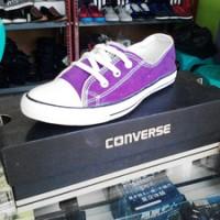 Sepatu Converse All Star Casual Cewek Ungu