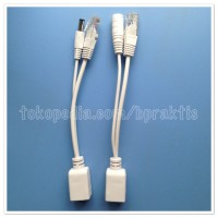 POE Cable Black for IP Camera, CCTV, Wireless Router, Switch, LAN Tool