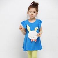 Bunny Set Blue sz 100 (2thn)