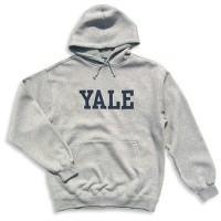 hoodie yale grey