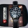 Jam Tangan Expedition E-6381 Black Leather