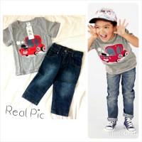 HnM Car top and Jeans / Setelan anak laki laki / Celana Jeans anak