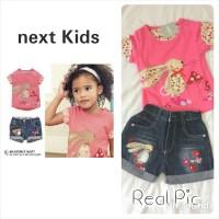 Next Kids Bunny / Setelan Baju Anak Perempuan / Celana Jeans