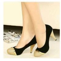 heels suede gliter