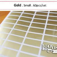 Gold / Alumunium Sticker. Stiker Name Label Small. Alumunium Glitter / Blank. untuk anak & dewasa buku, tas, hp, hadiah.