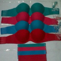 Seamless Invisible Bra / strapless bra / Bra Kawat Tali Transparan