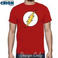 "Kaos Superhero "" The Flash "" by Crion"