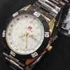 Jam Tangan Swiss Army Rantai H-TH10 (Putih Gold)