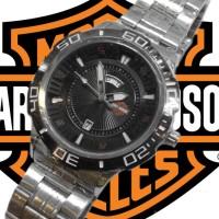 Harley Davidson Rantai Ps808 (Silver Black)