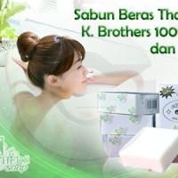 SABUN BERAS THAILAND KBROTHERS ( NEW PACK ) ORIGINAL