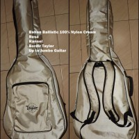 Softcase Gitar Akustik LE Cream Bordir Taylor