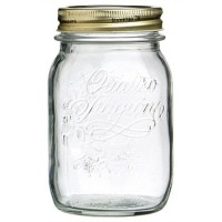 500mL Bormioli Rocco Quattro Stagioni Preserving Glass Jar / Mason Jar / Toples
