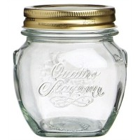 300mL Bormioli Rocco Quattro Stagioni Amphora Preserving Glass Jar / Mason Jar / Toples